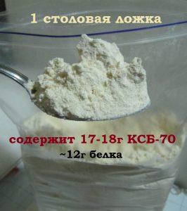 КСБ 70 столовая ложка